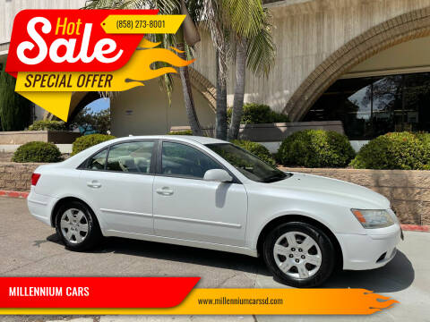 2010 Hyundai Sonata for sale at MILLENNIUM CARS in San Diego CA