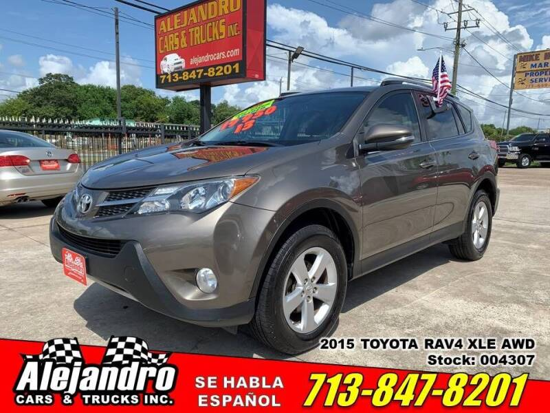 2013 Toyota RAV4 for sale at Alejandro Cars & Trucks Inc in Houston TX