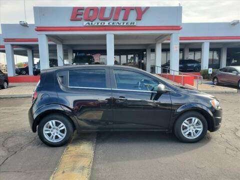 2016 Chevrolet Sonic for sale at EQUITY AUTO CENTER in Phoenix AZ