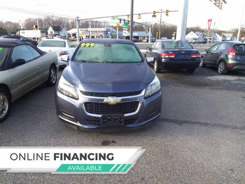 2014 Chevrolet Malibu for sale at Marino's Auto Sales in Laurel DE