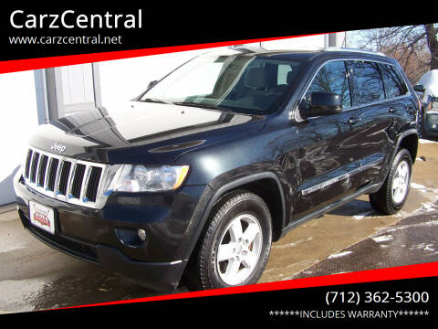 2012 Jeep Grand Cherokee for sale at CarzCentral in Estherville IA