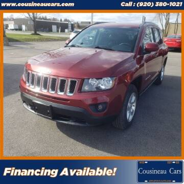 2016 Jeep Compass for sale at CousineauCars.com in Appleton WI