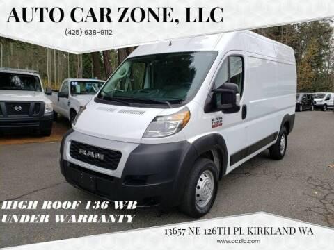 2019 RAM ProMaster Cargo for sale at Auto Car Zone, LLC in Kirkland WA
