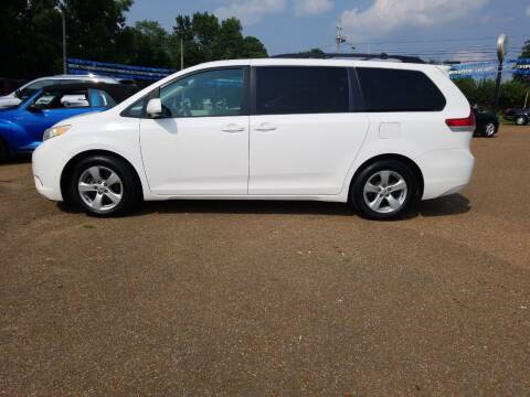 2012 Toyota Sienna for sale at Frontline Auto Sales in Martin TN