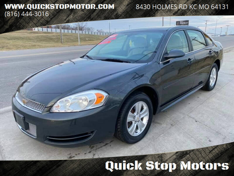 2015 Chevrolet Impala Limited for sale at Quick Stop Motors in Kansas City MO
