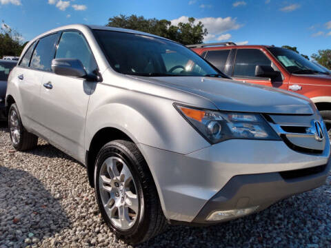 2009 Acura MDX for sale at Empire Automotive Group Inc. in Orlando FL