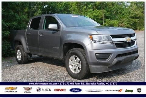 2019 Chevrolet Colorado for sale at WHITE MOTORS INC in Roanoke Rapids NC