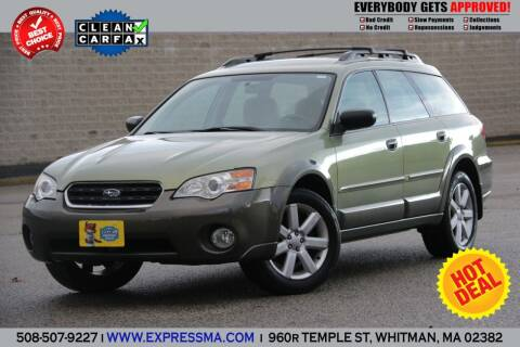 2006 Subaru Outback for sale at Auto Sales Express in Whitman MA