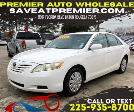 2008 Toyota Camry for sale at Premier Auto Wholesale in Baton Rouge LA