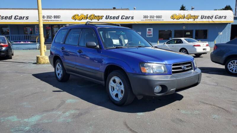 2003 Subaru Forester for sale at Good Guys Used Cars Llc in East Olympia WA