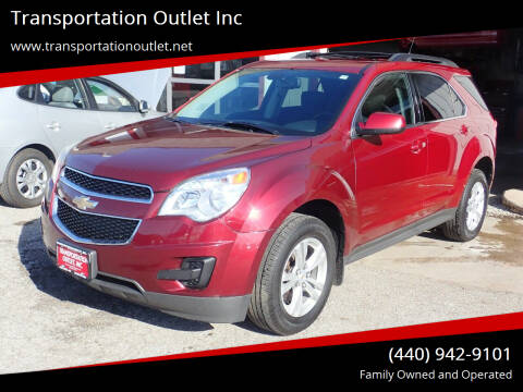 2011 Chevrolet Equinox for sale at Transportation Outlet Inc in Eastlake OH
