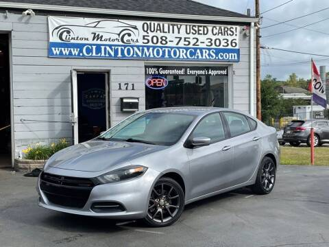 2015 Dodge Dart for sale at Clinton MotorCars in Shrewsbury MA