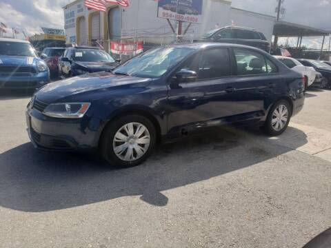 2014 Volkswagen Jetta for sale at INTERNATIONAL AUTO BROKERS INC in Hollywood FL