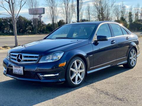 2012 Mercedes-Benz C-Class for sale at Silmi Auto Sales in Newark CA