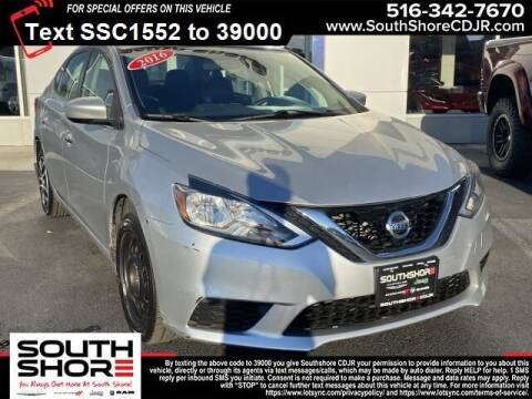2016 Nissan Sentra for sale at South Shore Chrysler Dodge Jeep Ram in Inwood NY