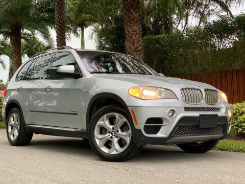 2013 BMW X5 for sale at HIGH PERFORMANCE MOTORS in Hollywood FL
