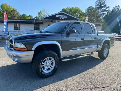 2003 Dodge Dakota for sale at CVC AUTO SALES in Durham NC