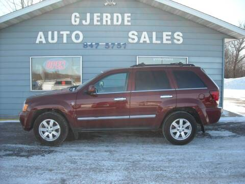 2009 Jeep Grand Cherokee for sale at GJERDE AUTO SALES in Detroit Lakes MN