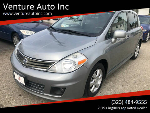 2011 Nissan Versa for sale at Venture Auto Inc in South Gate CA