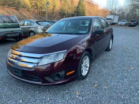 2011 Ford Fusion for sale at JM Auto Sales in Shenandoah PA