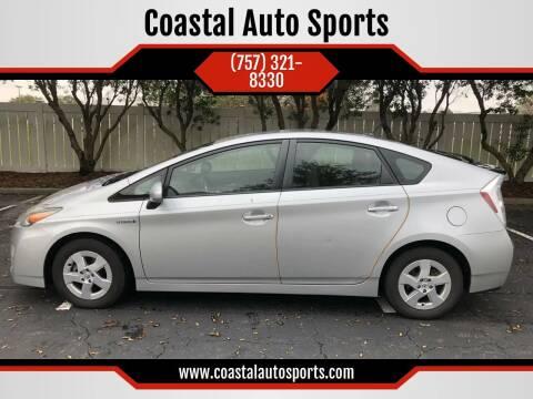 2011 Toyota Prius for sale at Coastal Auto Sports in Chesapeake VA