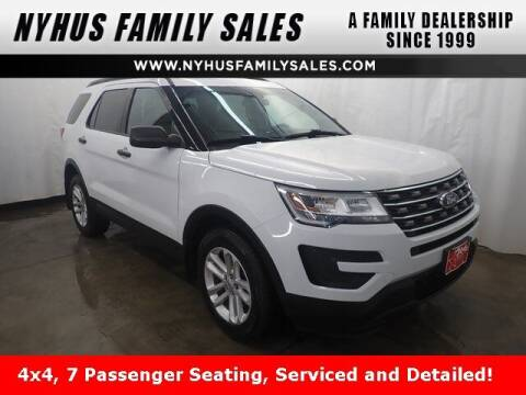 2017 Ford Explorer for sale at Nyhus Family Sales in Perham MN