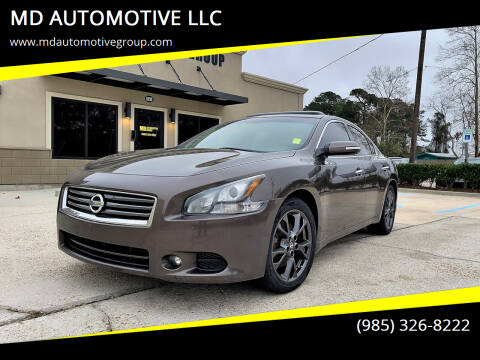 2014 Nissan Maxima for sale at MD AUTOMOTIVE LLC in Slidell LA