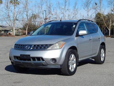2007 Nissan Murano for sale at Crow`s Auto Sales in San Jose CA