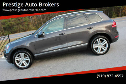 2013 Volkswagen Touareg for sale at Prestige Auto Brokers in Raleigh NC
