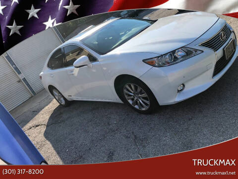 2014 Lexus ES 300h for sale at TruckMax in N. Laurel MD