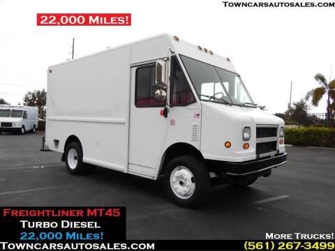 2004 Freightliner MT45 for sale at Town Cars Auto Sales in West Palm Beach FL