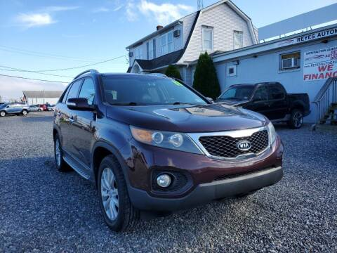 2011 Kia Sorento for sale at Reyes Automotive Group in Lakewood NJ