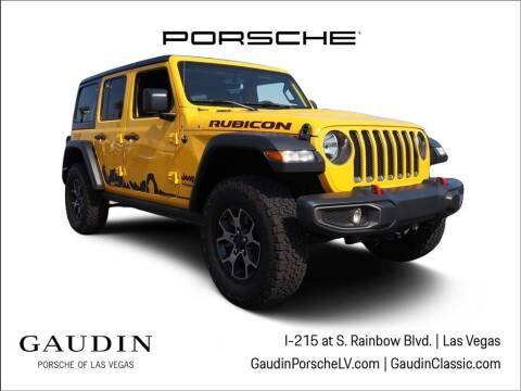 2018 Jeep Wrangler Unlimited for sale at Gaudin Porsche in Las Vegas NV