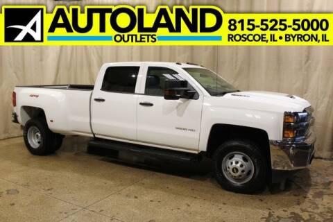 2019 Chevrolet Silverado 3500HD for sale at AutoLand Outlets Inc in Roscoe IL
