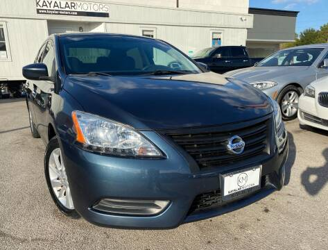 2013 Nissan Sentra for sale at KAYALAR MOTORS in Houston TX