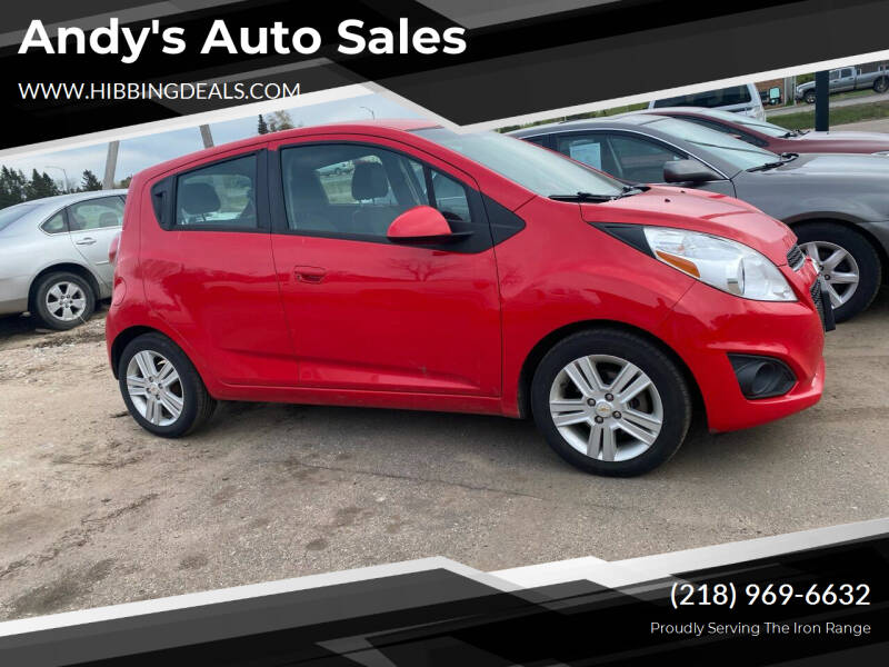 2014 Chevrolet Spark for sale at Andy's Auto Sales in Hibbing MN