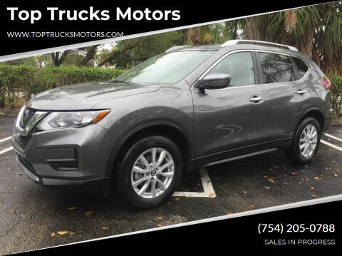 2018 Nissan Rogue for sale at Top Trucks Motors in Pompano Beach FL