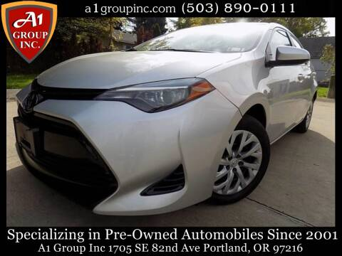 2018 Toyota Corolla for sale at A1 Group Inc in Portland OR