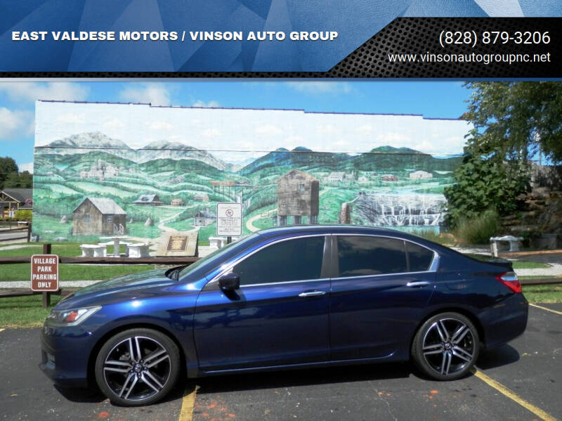 2014 Honda Accord for sale at EAST VALDESE MOTORS / VINSON AUTO GROUP in Valdese NC
