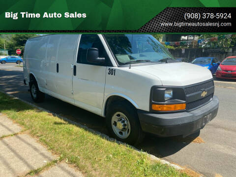 2012 Chevrolet Express Cargo for sale at Big Time Auto Sales in Vauxhall NJ