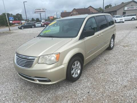 2011 Chrysler Town and Country for sale at Approved Automotive Group in Terre Haute IN