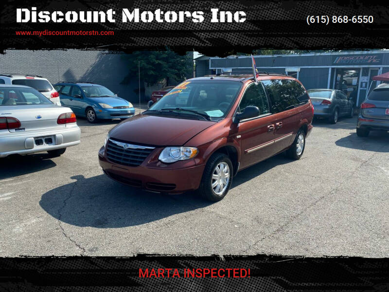 2007 Chrysler Town and Country for sale at Discount Motors Inc in Madison TN