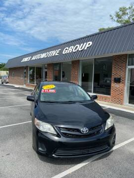 2012 Toyota Corolla for sale at Jones Automotive Group in Jacksonville NC