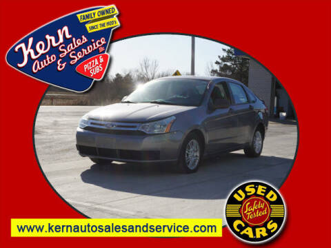 2009 Ford Focus for sale at Kern Auto Sales & Service LLC in Chelsea MI