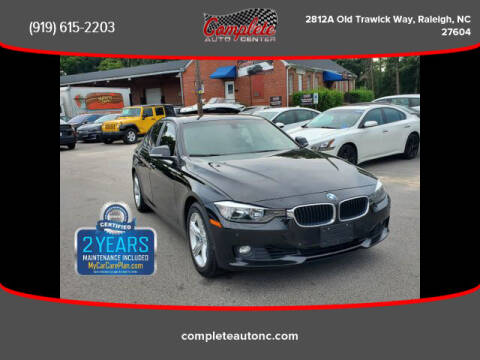 2014 BMW 3 Series for sale at Complete Auto Center , Inc in Raleigh NC