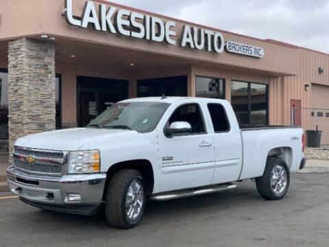 2013 Chevrolet Silverado 1500 for sale at Lakeside Auto Brokers in Colorado Springs CO