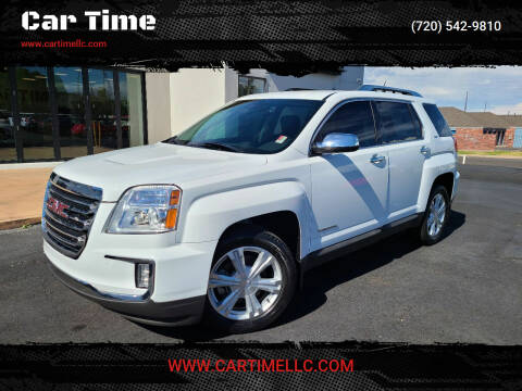 2016 GMC Terrain for sale at Car Time in Denver CO