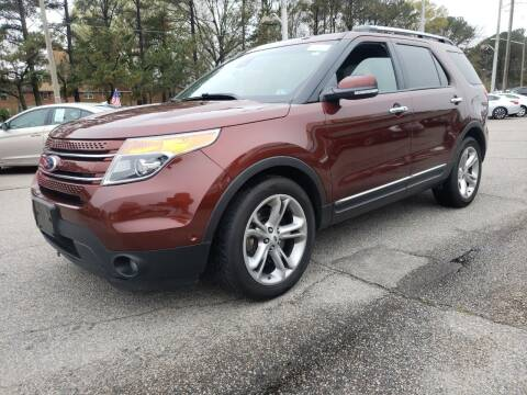 2015 Ford Explorer for sale at Auto 757 in Norfolk VA