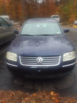 2001 Volkswagen Passat for sale at Dun Rite Car Sales in Downingtown PA