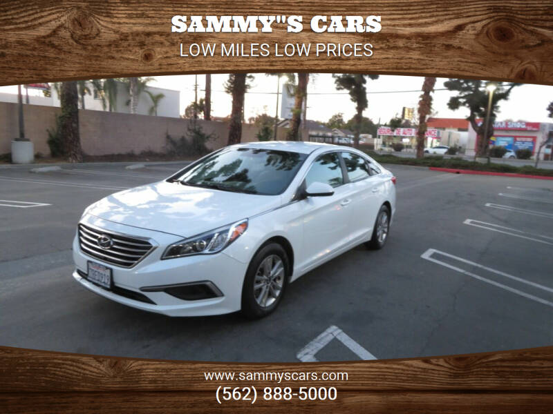 "2016 Hyundai Sonata for sale at SAMMY""S CARS in Bellflower CA"